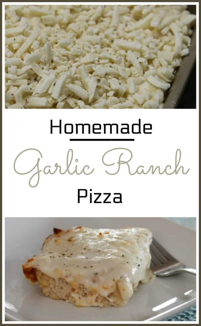 Homemade Garlic Ranch Pizza Recipe