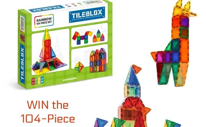 WIN a 104-Piece Set of Tileblox from Magformers!