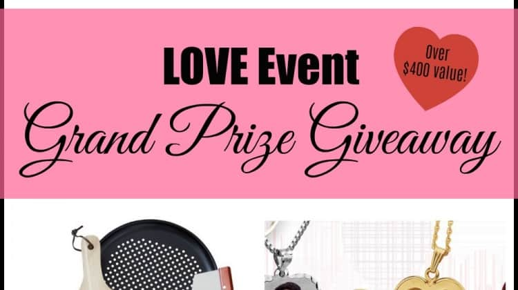 Valentine's Day LOVE Event - One winner take all Giveaway