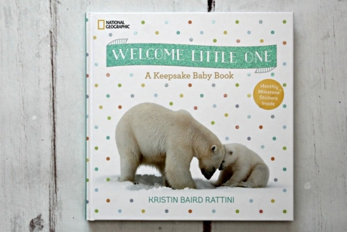 National Geographic Welcome Little One: A Keepsake Baby Book