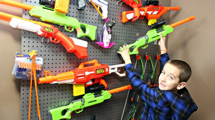 How To Build A Nerf Gun Wall {With Easy to Follow Instructions!}