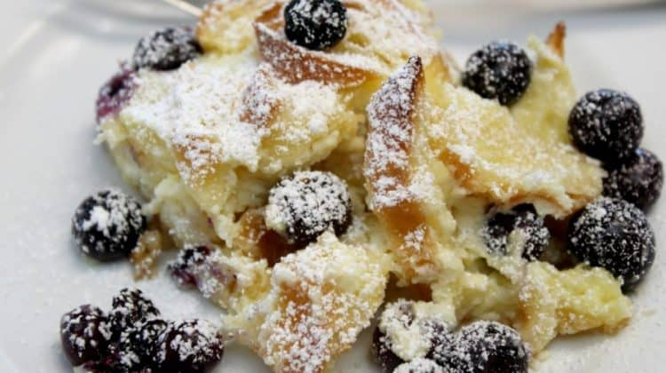 Blueberry Bramble Bake Recipe ~ Delicious Breakfast Dessert
