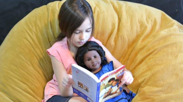 homeschooling with American Girl Addy