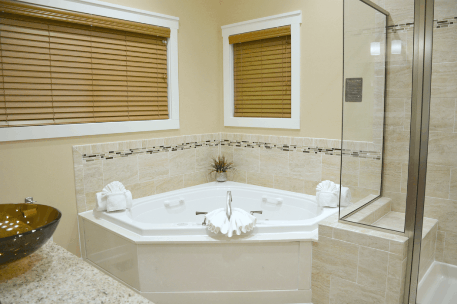 Regal Vistas at Massanutten Master Bathroom
