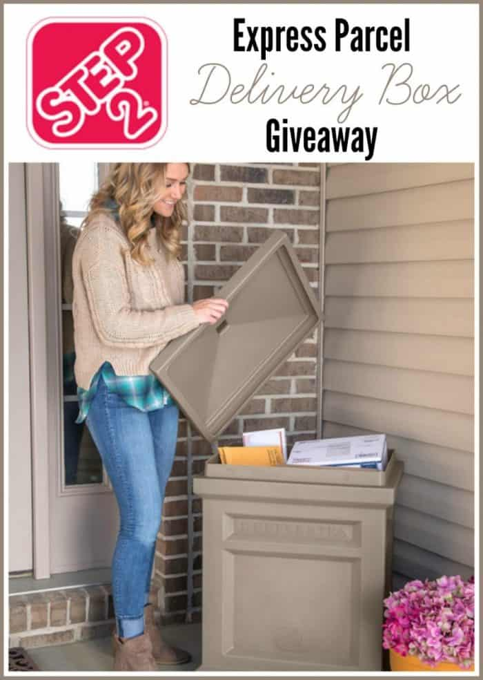 Step2 Express Parcel Delivery Package Mailbox Giveaway