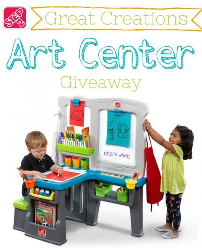 Step2 Great Creations Art Center Review & Giveaway
