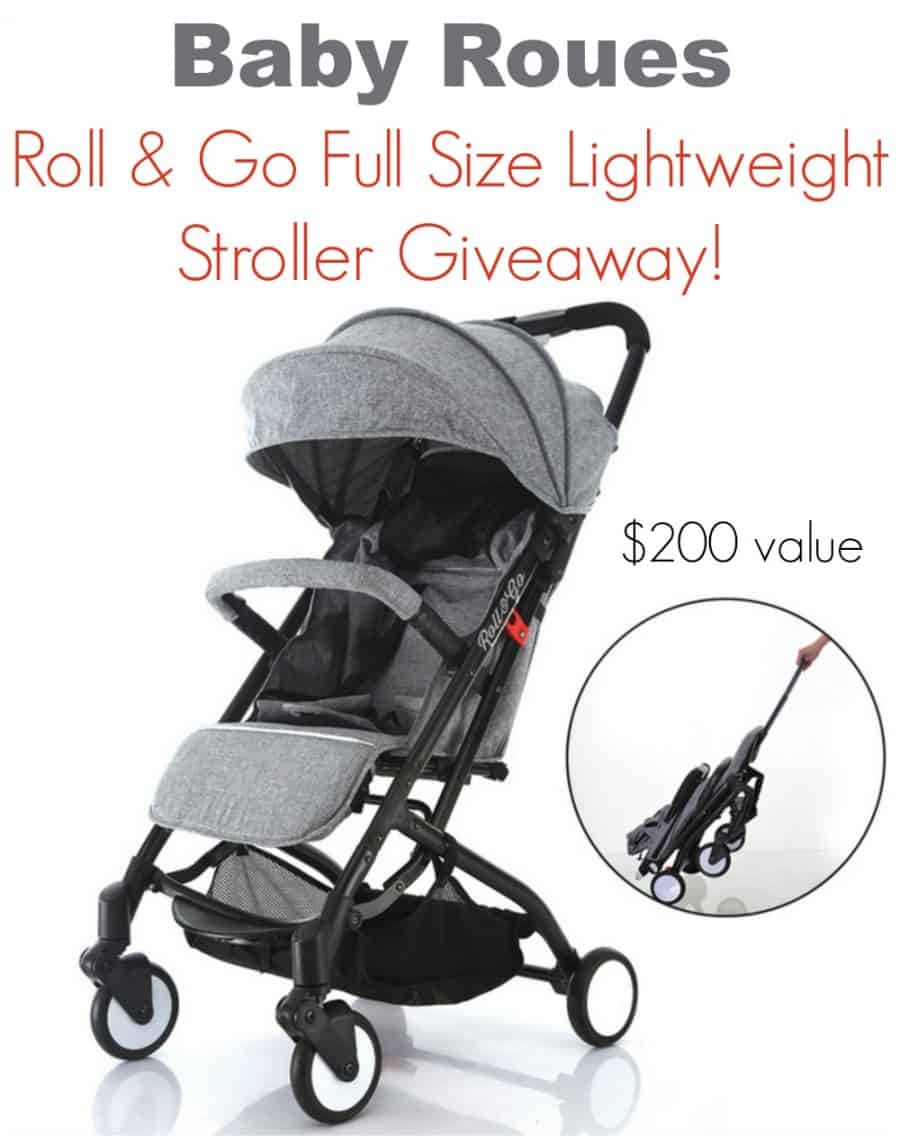 Baby Roues Lightweight Roll & Go Stroller Giveaway