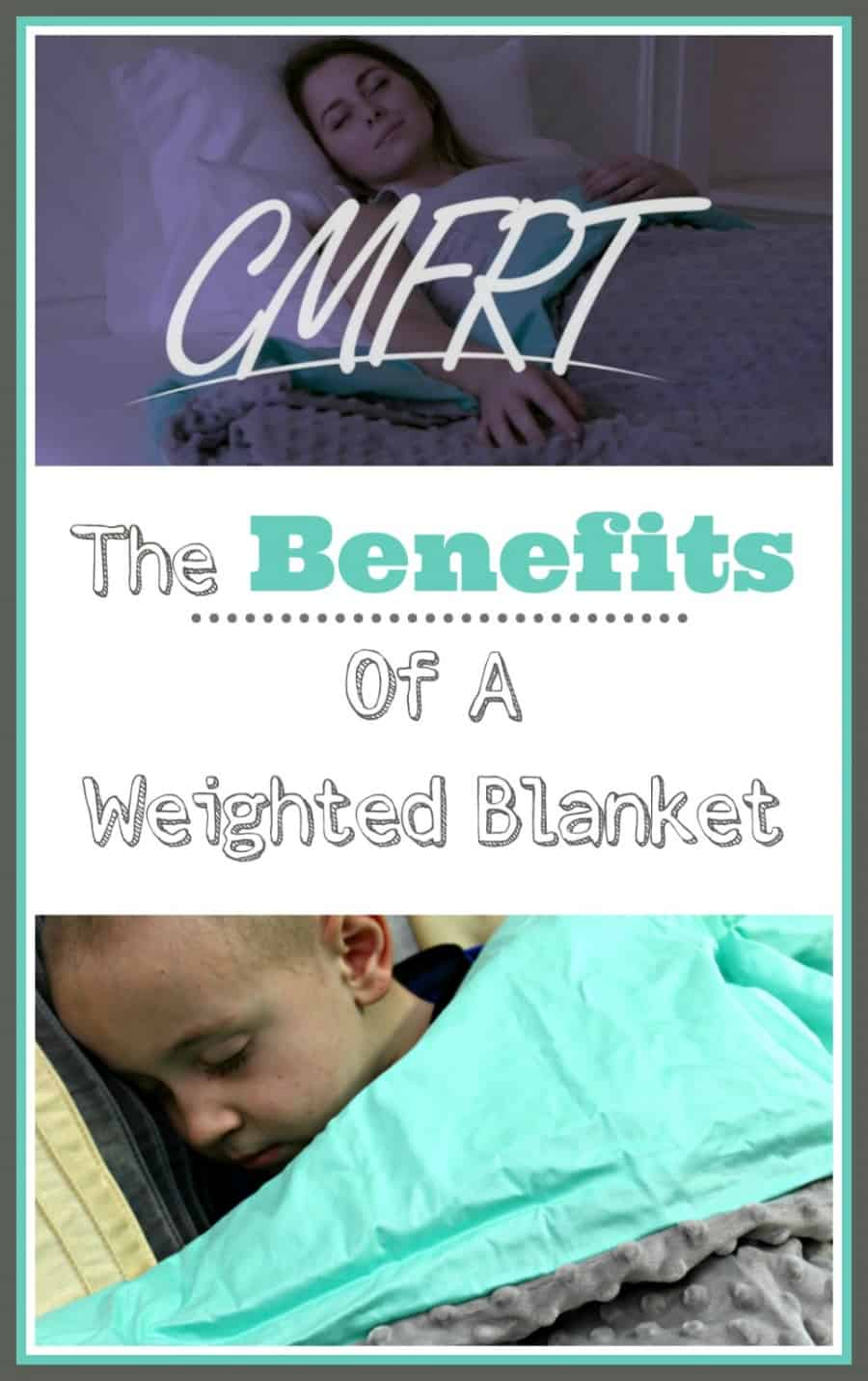 Weighted Blanket Benefits + CMFRT Weighted Blanket Review