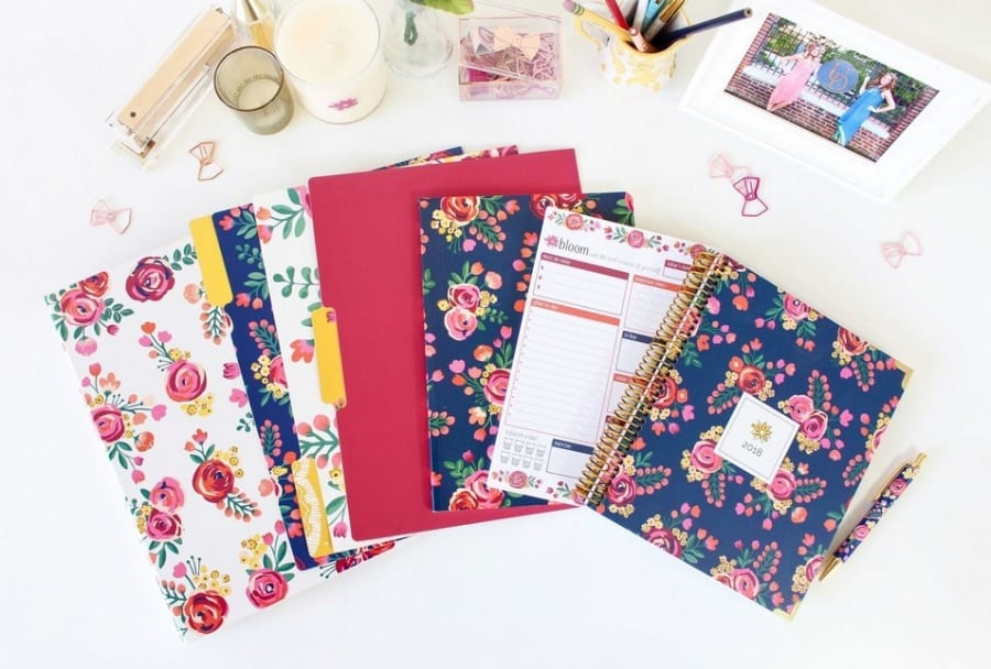 Bloom Planners Vintage Floral Bundle