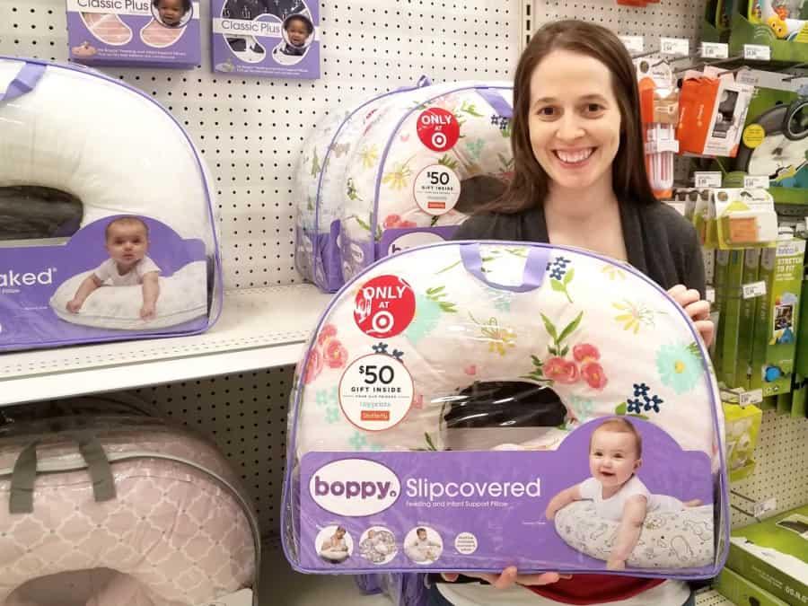 Boppy at Target