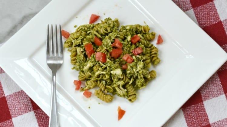 Quick and Easy Chicken Pesto Pasta Recipe