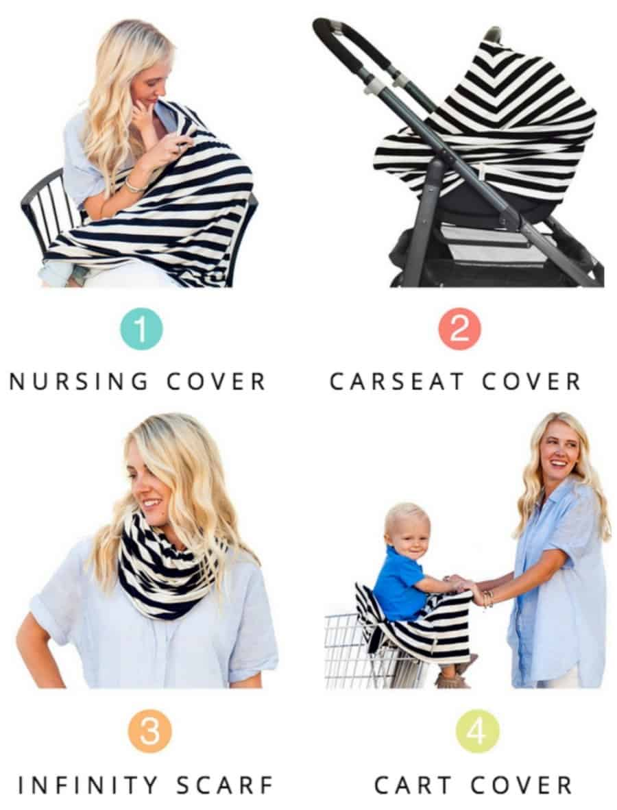 Covered Goods 4-in-1 Nursing Cover