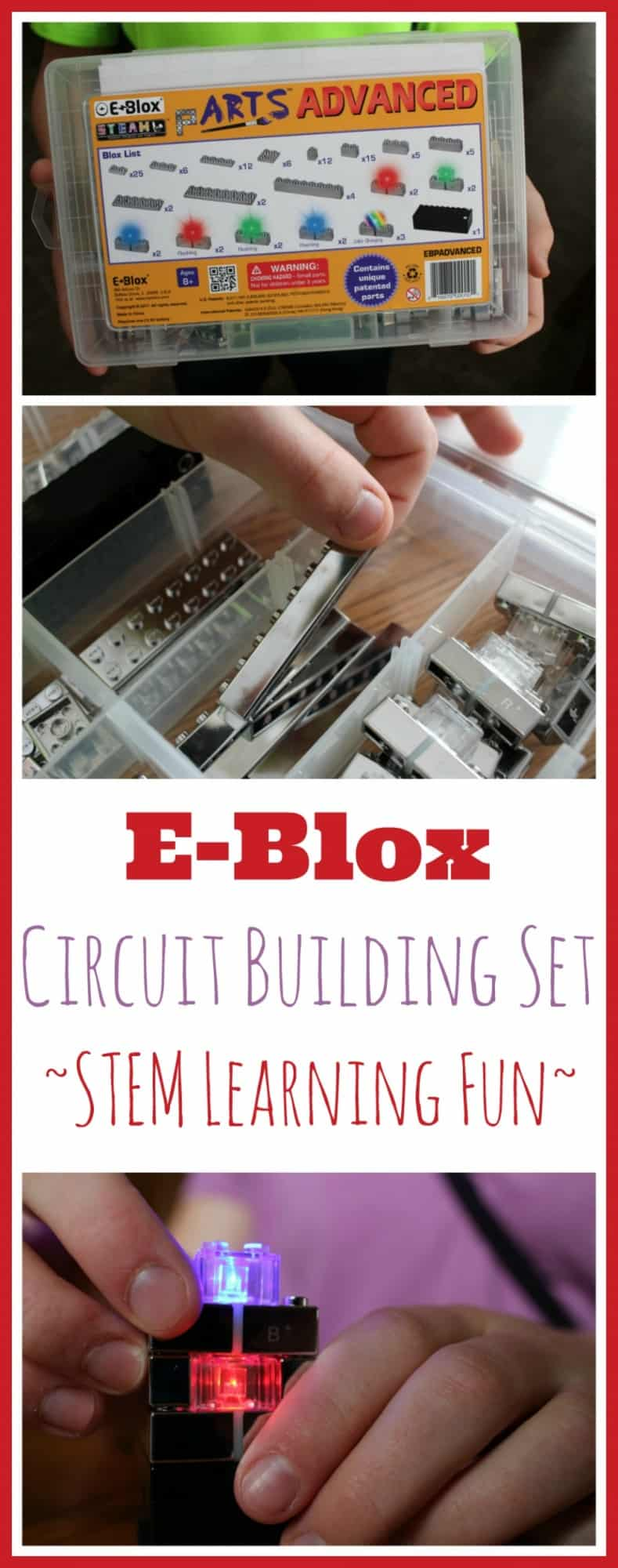 E-Blox Circuit Building Set STEM Review