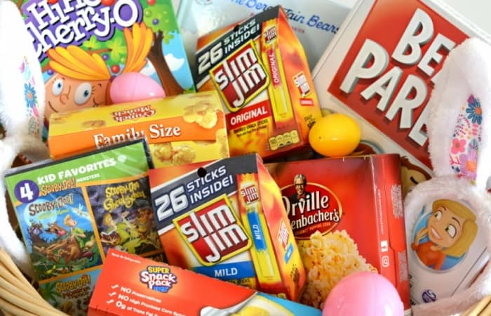 Family Easter Basket Idea