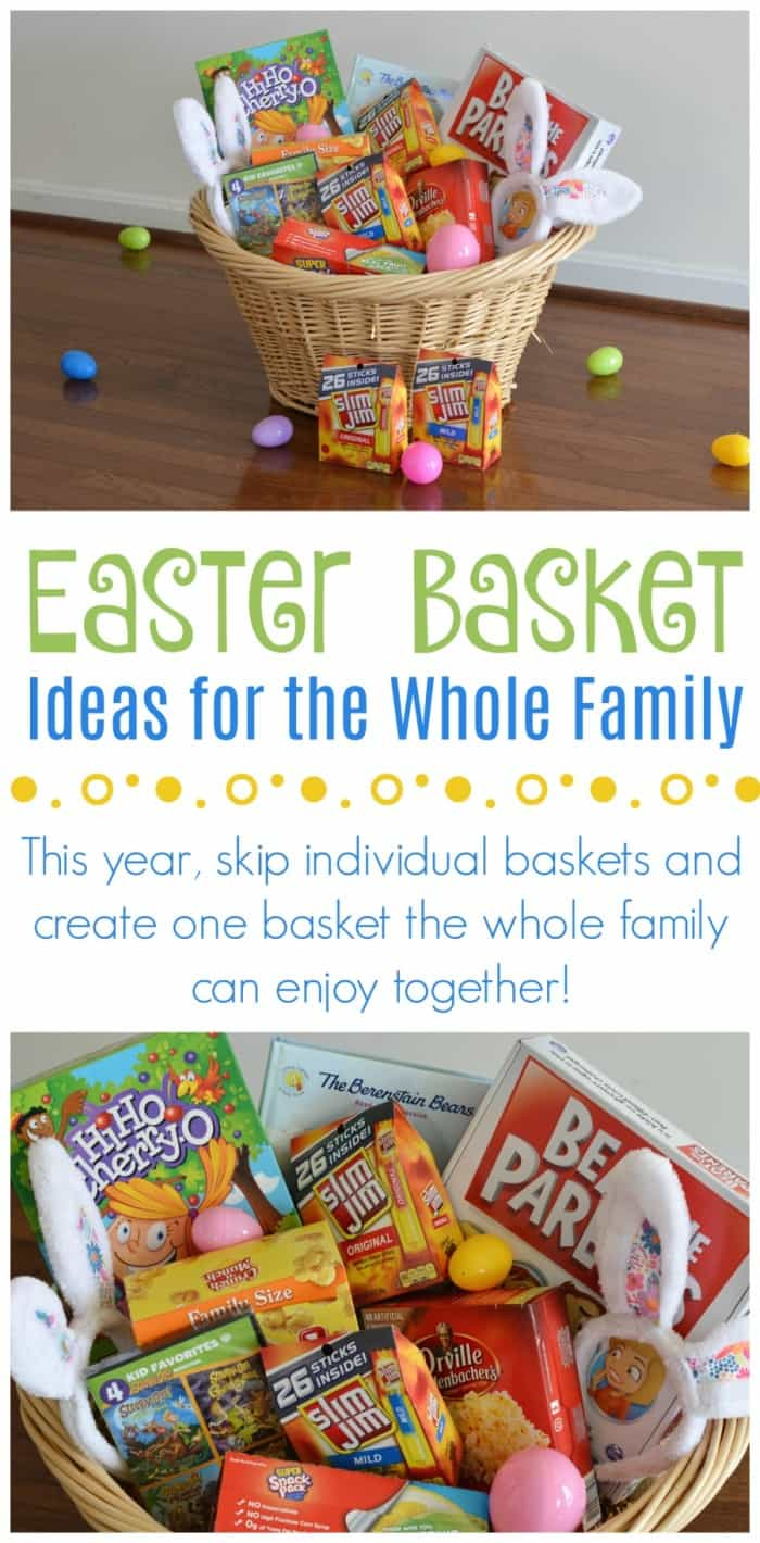 Family Easter Basket ideas