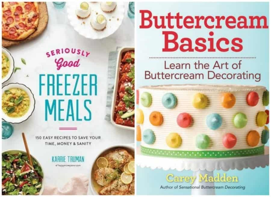 Robert Rose Freezer Meals & Buttercream Basics Cookbooks