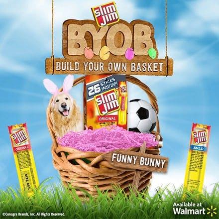 Slim Jim Easter Basket