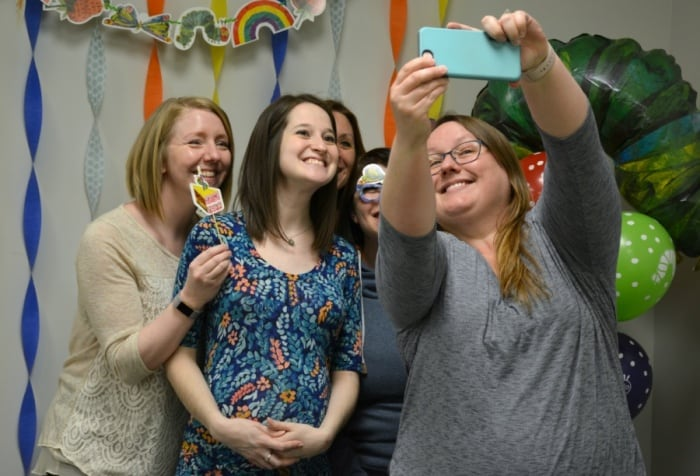 The Very Hungry Caterpillar Baby Shower