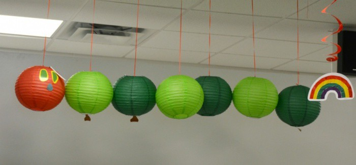 The Very Hungry Caterpillar Baby Shower Decorations