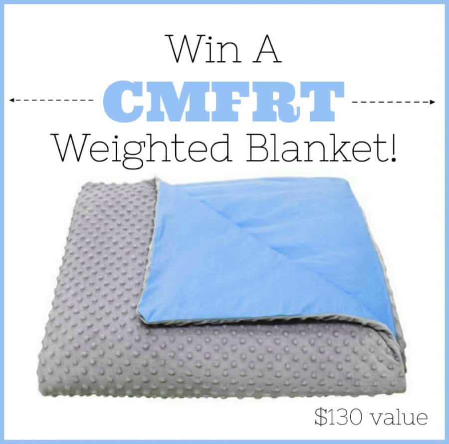 COMFRT Weighted Blanket Giveaway