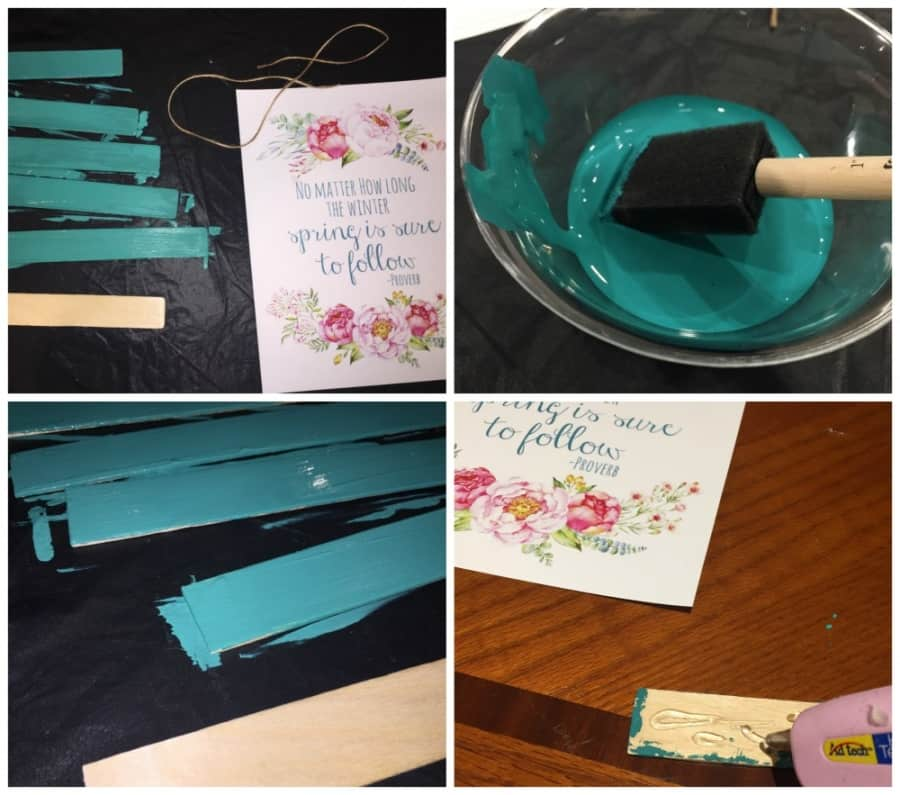 Esy DIY Wall Scriptures / Simple DIY Homemade Sign Decor {Instructions}