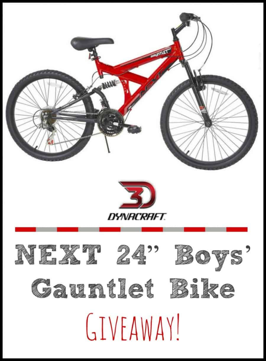 "Dynacraft NEXT 24"" Boys' Gauntlet Bike {+ Giveaway}"