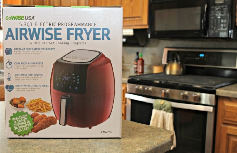 GoWISE Air Fryer - GoWISE Air Fryer ~ Perfect For Meals, Snacks, & Dessert! - Sriracha Honey BBQ Chicken Recipe & Fried Bread (fetacukan) Recipe