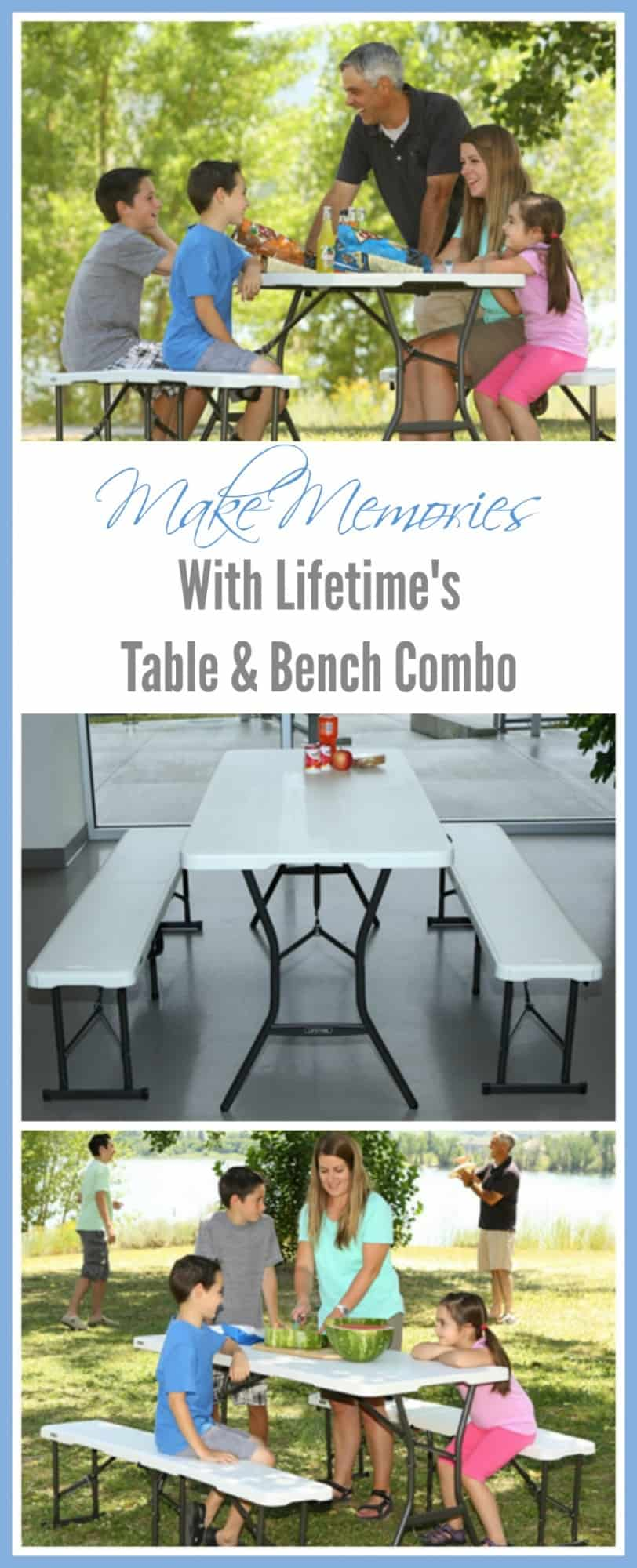 Wondrous Lifetime Table And Bench Set Review Thrifty Nifty Mommy Pabps2019 Chair Design Images Pabps2019Com