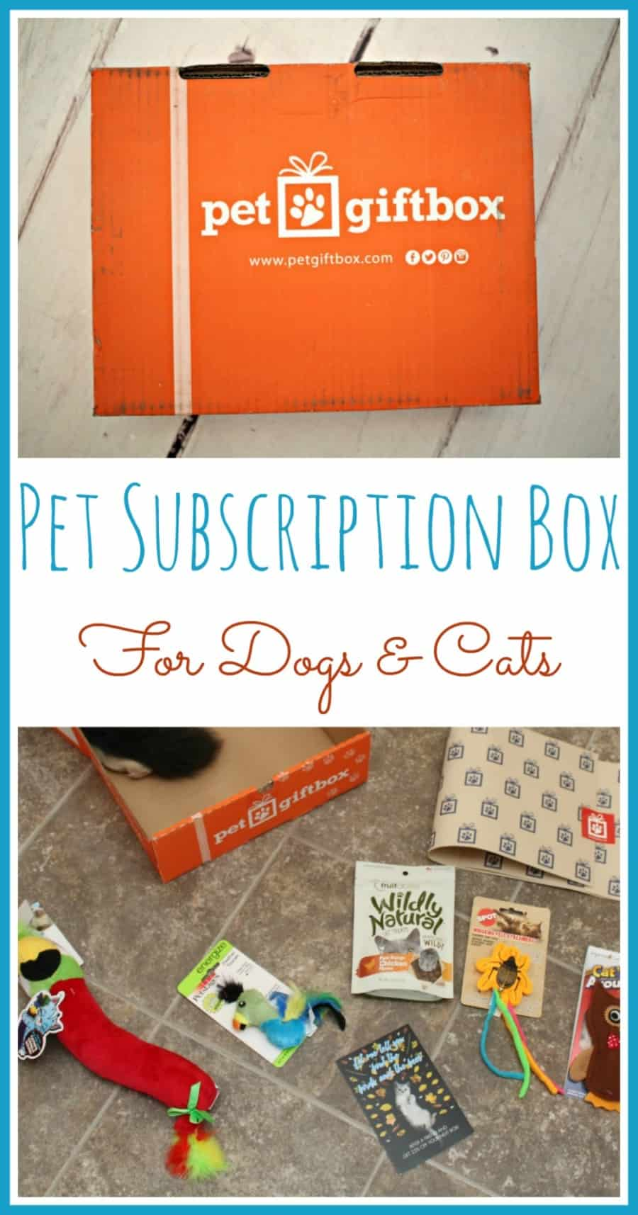 PetGiftBox - Pet Subscription Box {+ Discount}