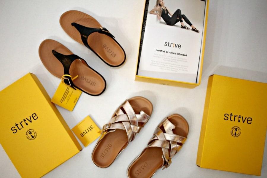 Healthy Footwear Found In Strive Shoes