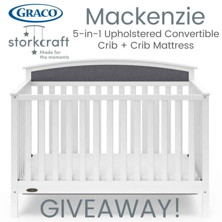 Graco Mackenzie Crib Giveaway