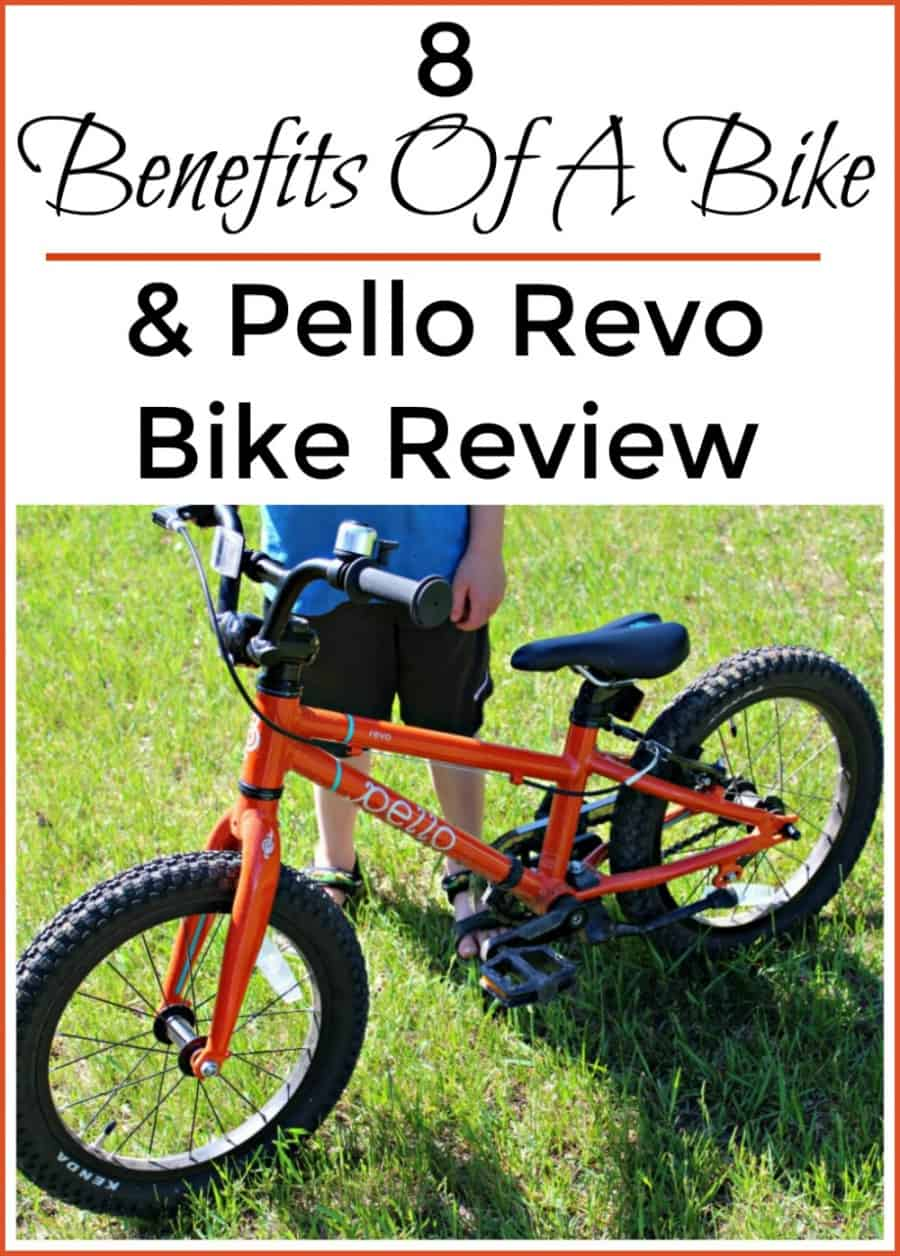 "16"" Pello Revo Bike Review & Benefits Of A Bike - Revo is short for Revolutionary and is an awesome little bike that loves to be ridden. As in all our bikes the Revo was designed from the ground up. Because of this we took our time and thought about every little detail that makes it fun and easy to ride. When comparing the Revo to its little sibling, the Romper, you'll find the Revo's cockpit and stand-over height a bit roomier and taller for riders that may be a tad too big for the Romper but not quite big enough for the Reddi. Our Revo is a small bike with a lot of heart and will be there when your little one asks ""can we go for a bike ride today?"", (Yes)! Life's an adventure, let's Ride! {Thrifty Nifty Mommy}"