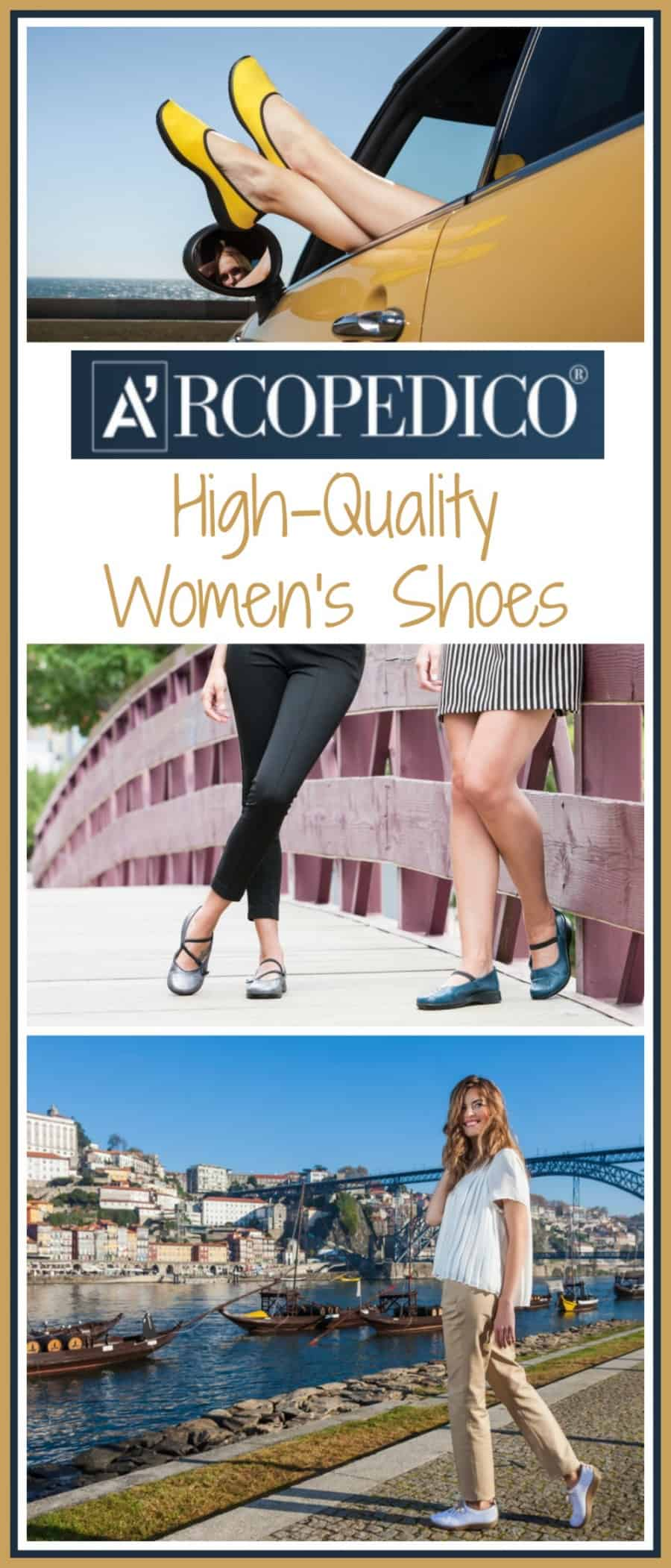 Arcopédico Shoes ~ Lolita & Selfie: High quality supportive women's footwear.