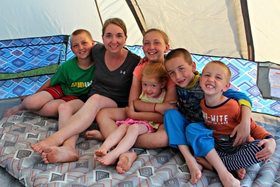 How To Plan A Successful Family Camping Vacation + Free Printable Packing List