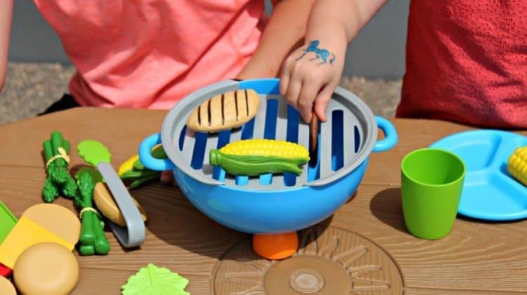 Kids Cookout Toy Sets - Adorable kids play food summer sets!