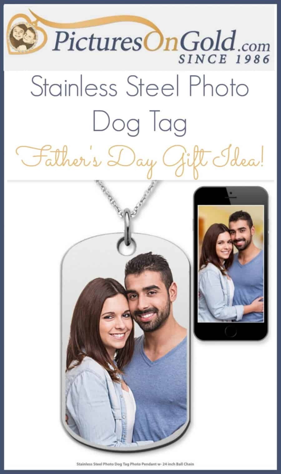PicturesOnGold Custom Dog Tags