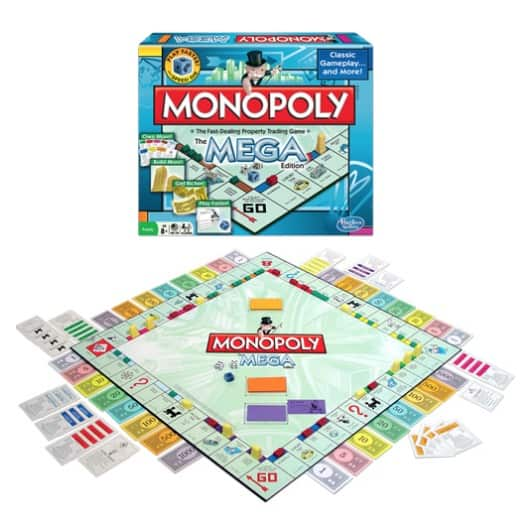 Fun Family Games From Winning Moves Games - Pass The Pigs & Mega Monopoly