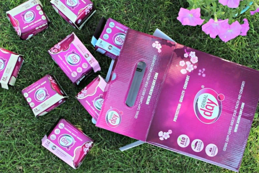 Genial Day Non Toxic Period Products - breakthrough products in the Feminine Care world!