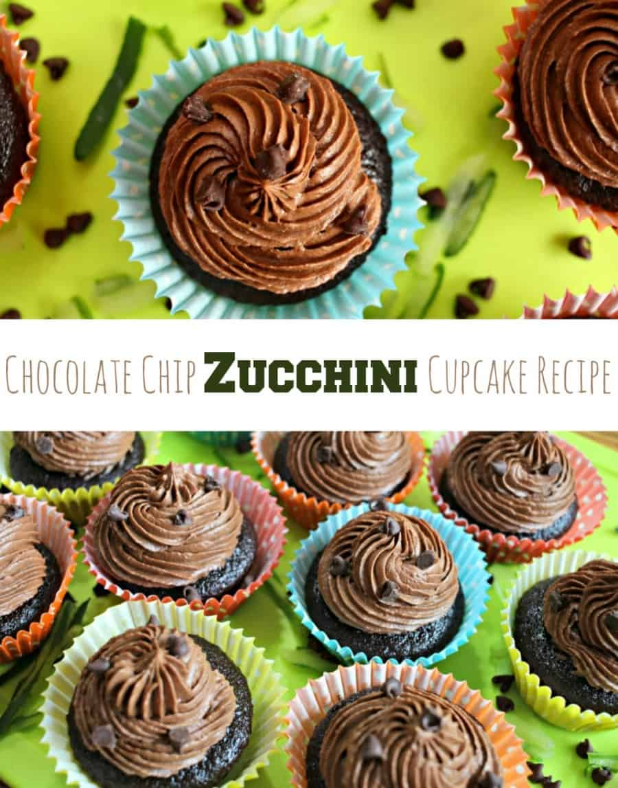 Chocolate Chip Zucchini Cupcake Recipe
