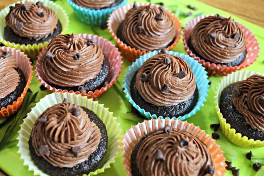 Chocolate Zucchini Cupcake Recipe