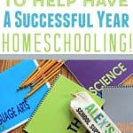 school supplies - 10 Tips on How To Have A Successful Year Of Homeschooling