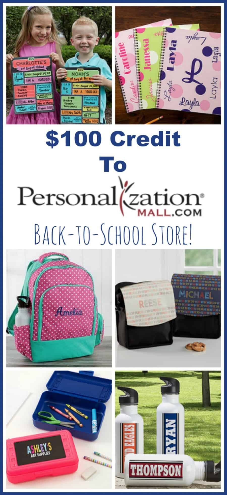 Personalization Mall Back to School Giveaway 2 - How To Have A Successful Year Of Homeschooling