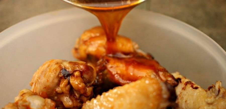 Air Fryer Sriracha Honey BBQ Chicken Recipe