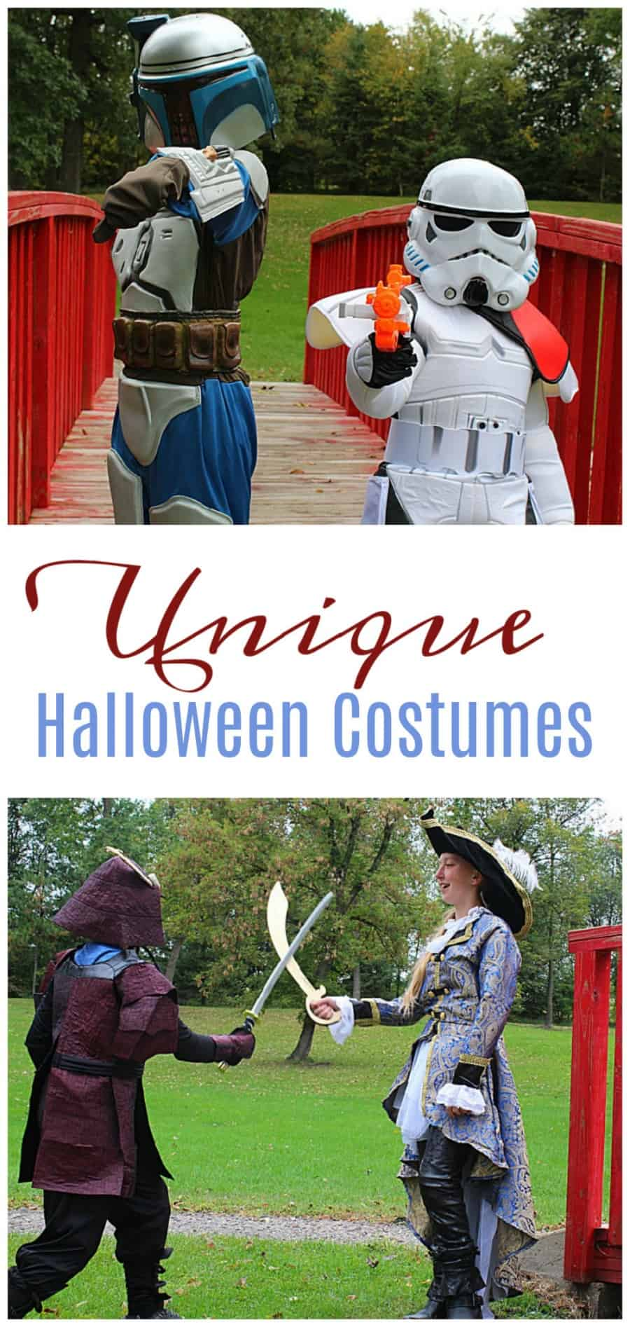 Unique Halloween Costumes {From Chasing Fireflies!}