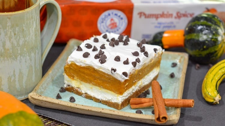 No-Bake Pumpkin Spice Layered Dessert Recipe