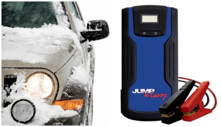 Clore Automotive Model No. JNC318 700 Peak Amp 12 Volt Lithium Jump Starter