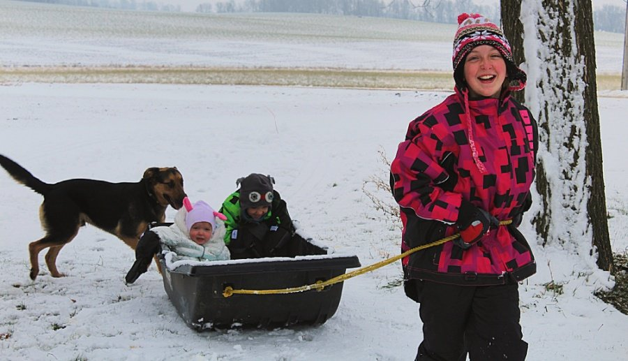 Different Ways Kids Can Play In The Snow
