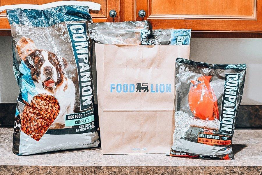 Food Lion Companion Brand Pet Food