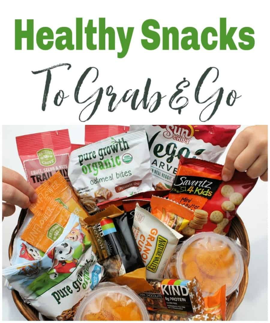 Healthy Snacks For Kids To Grab And Go - Over 50 ideas!