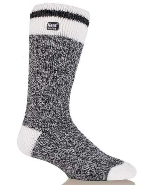 Heat Holders Men's Cream Block Twist LITE™ Socks